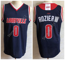8f06fed97ac #0 Terry Rozier III Louisville college Retro Basketball Jersey Mens  Stitched Custom Any Number Name Jerseys