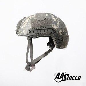 Image 2 - AA מגן בליסטי ACH גבוהה לחתוך טקטי TeijinHelmet Bulletproof מהיר ארמיד בטיחות NIJ רמת IIIA צבאי צבא ACU