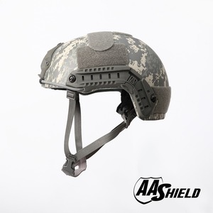 Image 2 - AA Shield Ballistic ACH High Cut Tactical TeijinHelmet Bulletproof FAST Aramid Safety NIJ Level IIIA  Military Army ACU