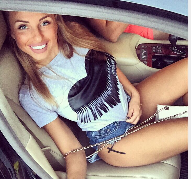 BKLD Fashion Summer Girls tops Heart print Tassel t shirts women short sleeve tee shirt female students t-shirts teenagers