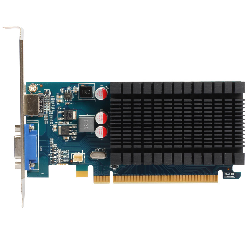 ФОТО Yeston Mars R5 230 1G GDDR3 video card small size desktop graphics card 2 years warranty