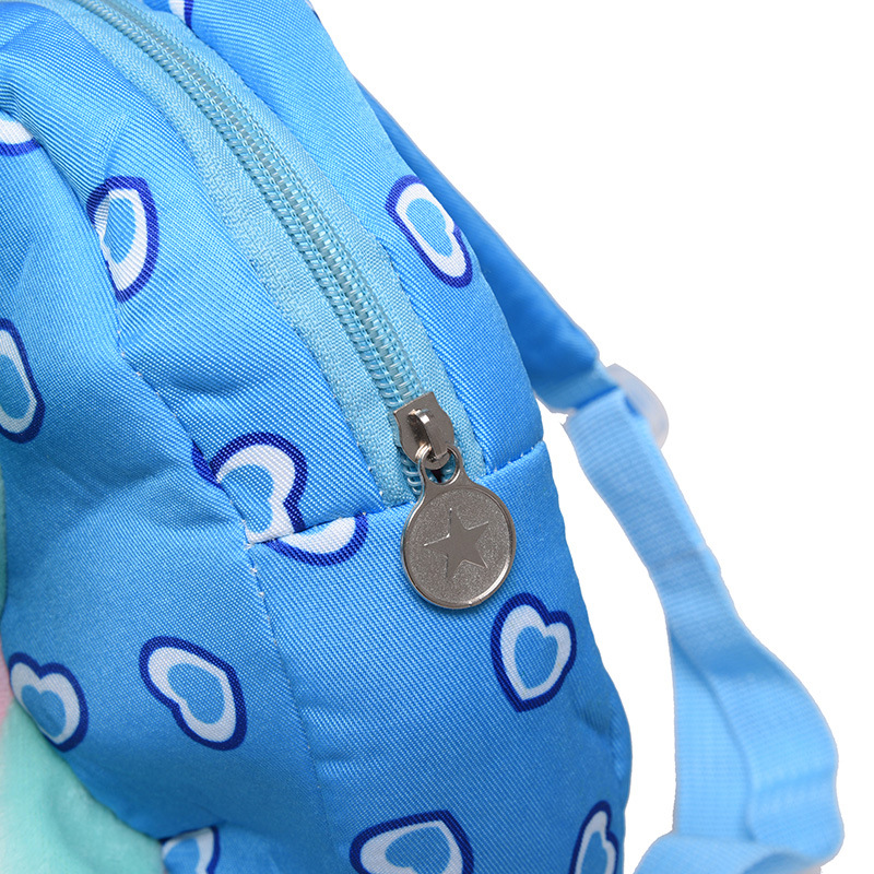 2018 Kindergarten Baby Backpack 1 2 3 year old Satchel Cute 3D Elephant  Backpack Cartoon Plush Toys Boys And Girls Animal Bag-in School Bags from  Luggage ... 897152e55cd42