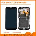 Черный ЖК-Дисплей Для Motorola Moto X XT1058 XT1060 Сенсорным экраном с дигитайзер Ассамблеи + Open Tools, бесплатная доставка
