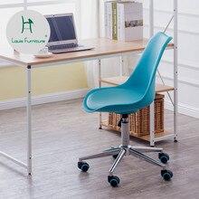 Модные Офисные стулья в скандинавском стиле с подъемным шкивом, простые современные Семейные стулья