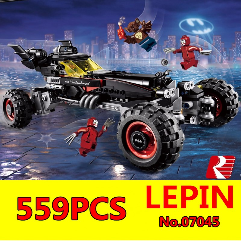 Batmobile Building Blocks LEPIN 07045 559Pcs Educational Super Heroes Batman New Year Gift Toys for Children Bela Decool 70905 наушники bbk ep 2100s розовый