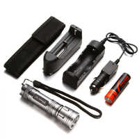 YAGE Flashlight Mini Cree LED Flashlight Telescopic Zoom Flashlight Touch 18650 Flashlight Linterna Torch Lantern Lampe Torche