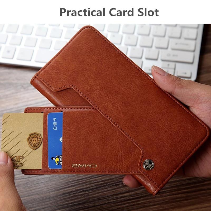 For iphone 11 Case Flip Wallet PU Կաշի կափարիչ iphone 6 6s - Բջջային հեռախոսի պարագաներ և պահեստամասեր - Լուսանկար 5
