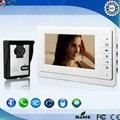 FYF 7 Inch Color Video Door Phone Intercom Doorbell System HD IR Camera Doorphone Monitor Speakerphone Home Security V70F-L