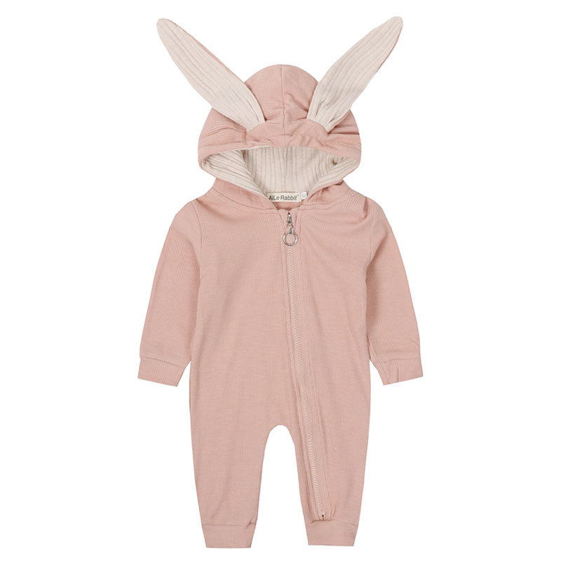 HTB16DphaUT1gK0jSZFhq6yAtVXaB New Spring Autumn Baby Rompers Cute Cartoon Rabbit Infant Girl Boy Jumpers Kids Baby Outfits Clothes