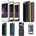 Fochutech 3800mAh External power bank case Power pack Charger Backup Battery Cover For iphone 6/4.7inch with USB cable line