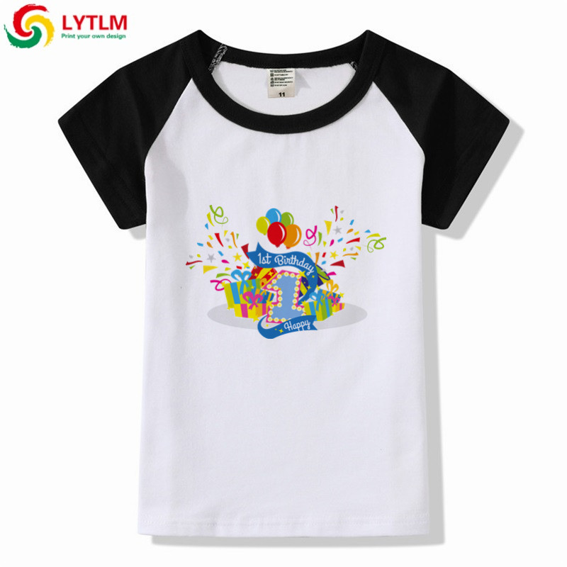 LYTLM Baby Clothing 1st Birthday Boy Funny T Shirt Kids Toddler Girl Shirts Modis Raglan Girls Tee Enfant Fille In From Mother