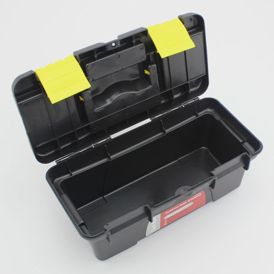 Small Size Portable Tool Box Large Capacity Double Layer Tool Storage Box Removable Design Portable Suitcase