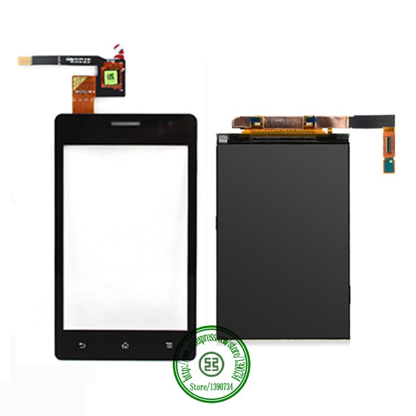 TOP Quality Black Touch Screen Digitizer + LCD Display For Sony Xperia GO ST27 ST27a ST27i Mobile Panel Replacement Parts