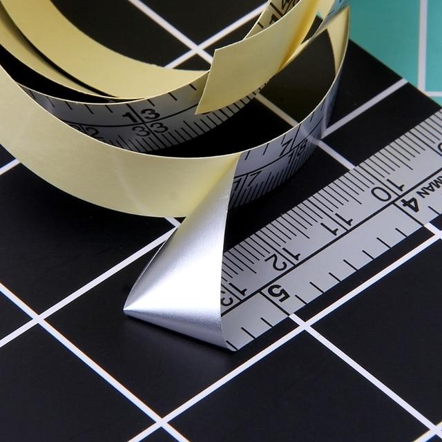 151 ซม.กาววัดเทปไวนิลไม้บรรทัดสำหรับสติกเกอร์จักรเย็บผ้า