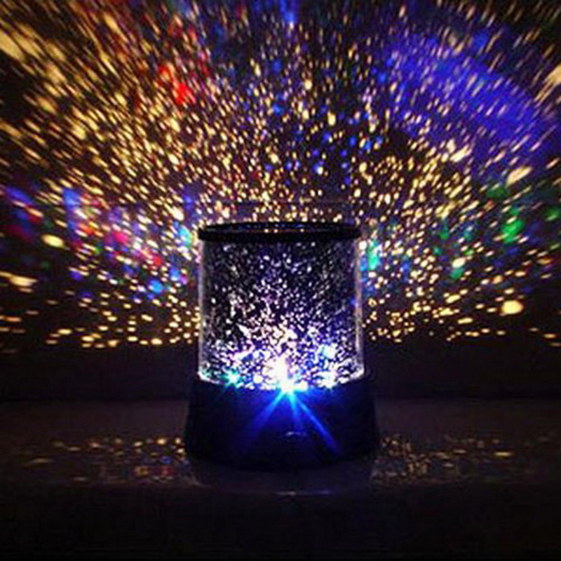 Colorful LED Star Master Sky Starry Night Light Projector LampColorful LED Star Master Sky Starry Night Light Projector Lamp