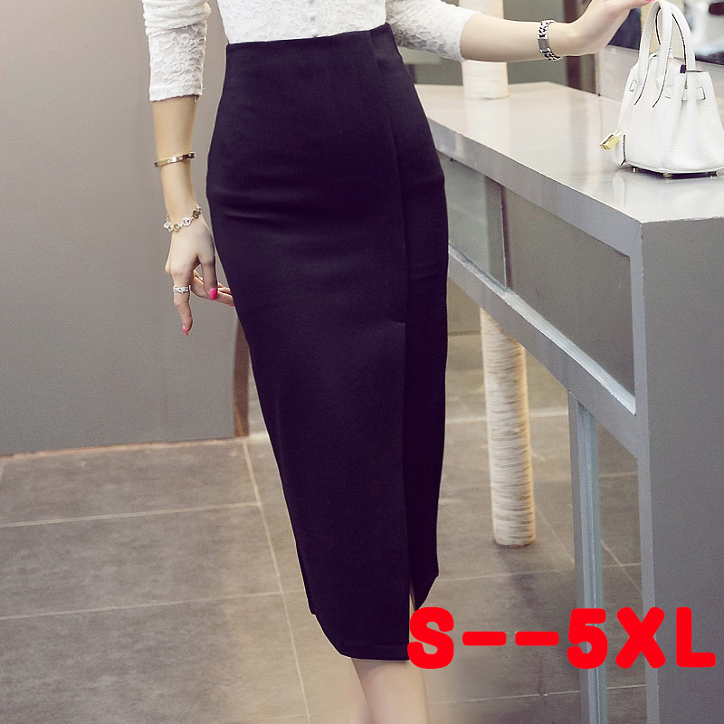 Long Slim Skirts