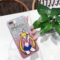 Guokos Leuke Cartoon Tpu Mobiele Telefoon Gevallen Voor iPhone X 10 Sailor Moon Mooie Smart Telefoon Coque Funda Beschermende Shell Tassen