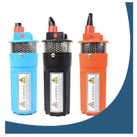 2 pcs/lot 24V DC 360LPH 230 Feet/ 70 Meters Lift Submersible Solar Water Pump