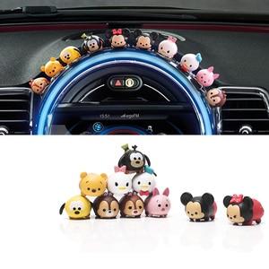 10 pcs Car Interior Trim 3D Ca