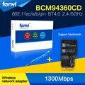 "Fenvi Gigabit Wifi Bluetooth Wireless-AC Broadcom BCM94360CD 802.11ac Mini PCI-E Wi-Fi BT 4.0 Wlan for Apple 2013 21.5""/27"" iMac"