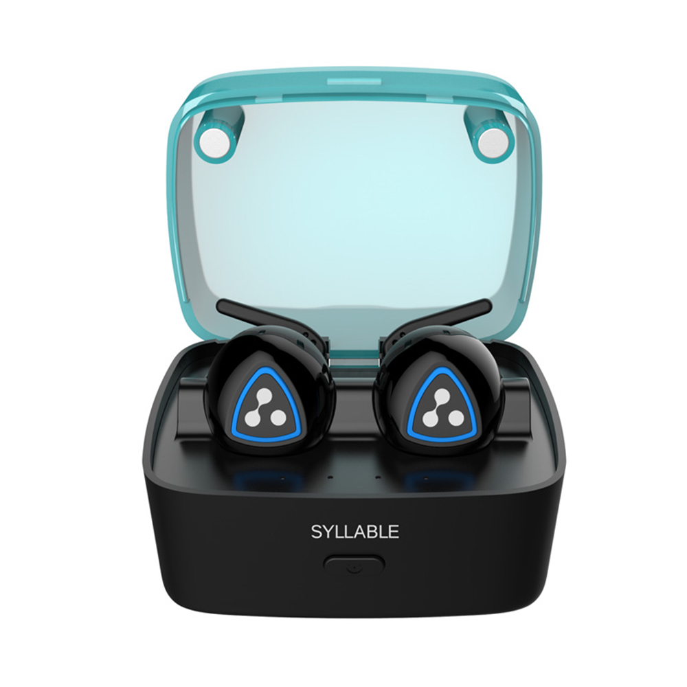 SYLLABLE D900S Wireless Earphone Sports Stereo Bluetooth in-ear Headset Portable Mini Earbud fone de ouvido with Mic Handsfree mini bluetooth earphone stereo earphone handsfree headset for iphone samsung xiaomi pc fone de ouvido s530 wireless headphone