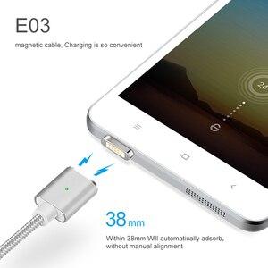 Image 5 - Cable Micro USB de carga magnética E03 de Elough para Xiaomi, Huawei y Android, Cable de datos con imán de carga rápida Microusb