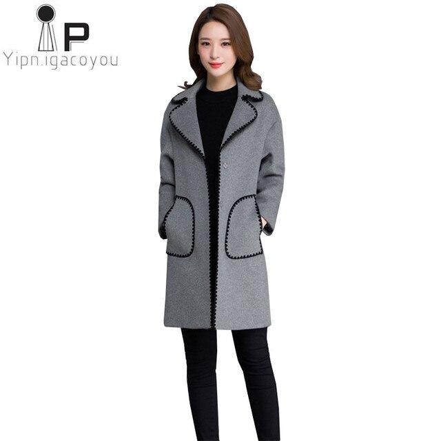 ce4f15cbf381 Mode Hiver femmes manteaux 2018 Nouvelle-Coréen Plus La taille chaud  Cardigan vestes de femmes