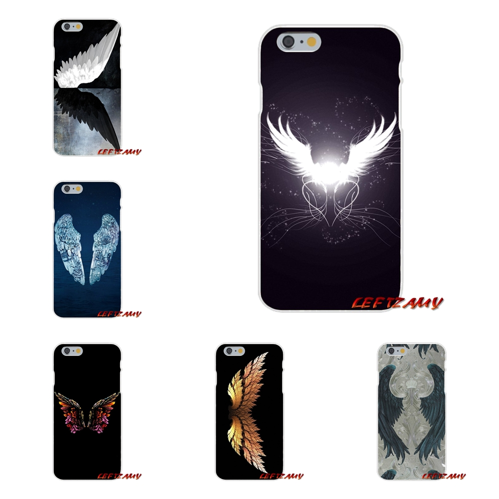 Amazing Angel Wing Art Slim Silicone phone Case For Samsung Galaxy S3 S4 S5 MINI S6 S7 edge S8 S9 Plus Note 2 3 4 5 8