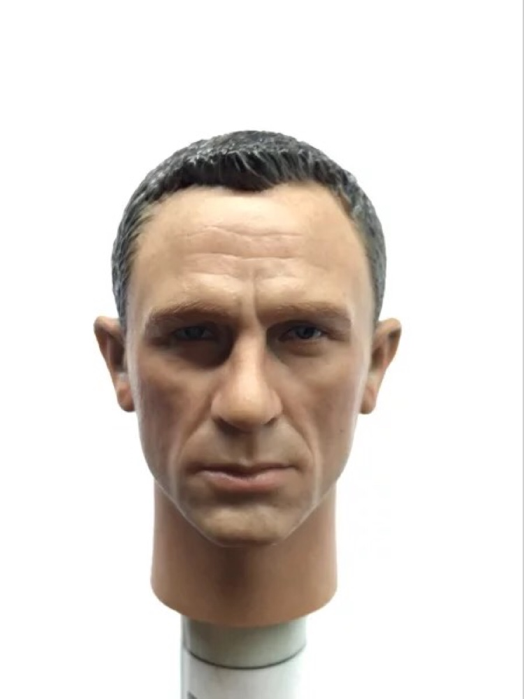 New 007 Agent James Bond 1 6 Headplay Daniel Craig Head Scuplt Action figure toys BB9002