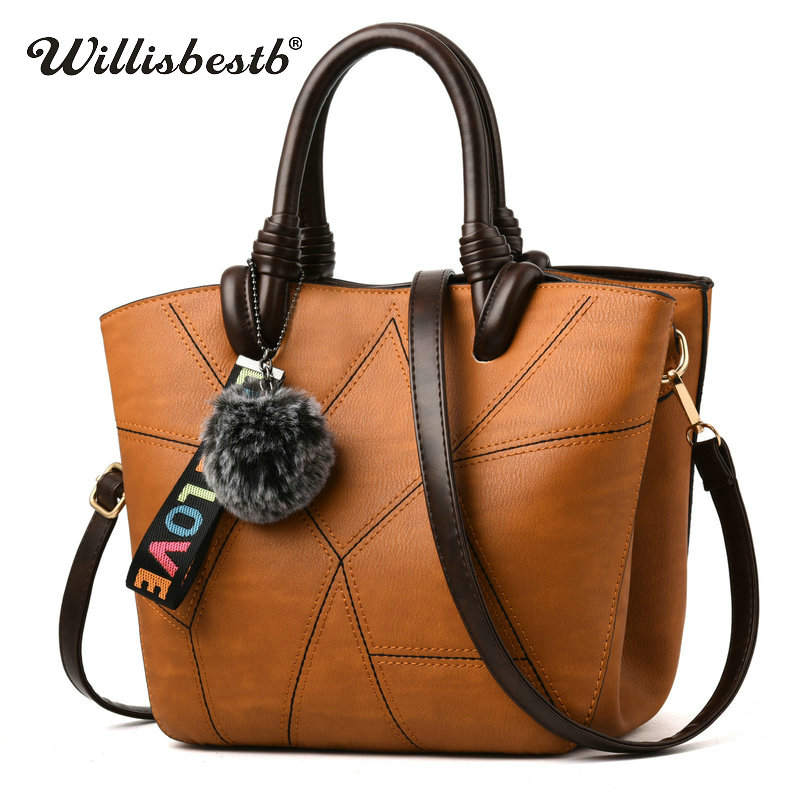 2018 New Women Fashion Handbag Leather Female High Quality Handbags Lady Crossbody Messenger Shoulder Bags Famous Designer Bag hibo women leather handbags women bags messenger bags shoulder bag high quality handbag female pouch