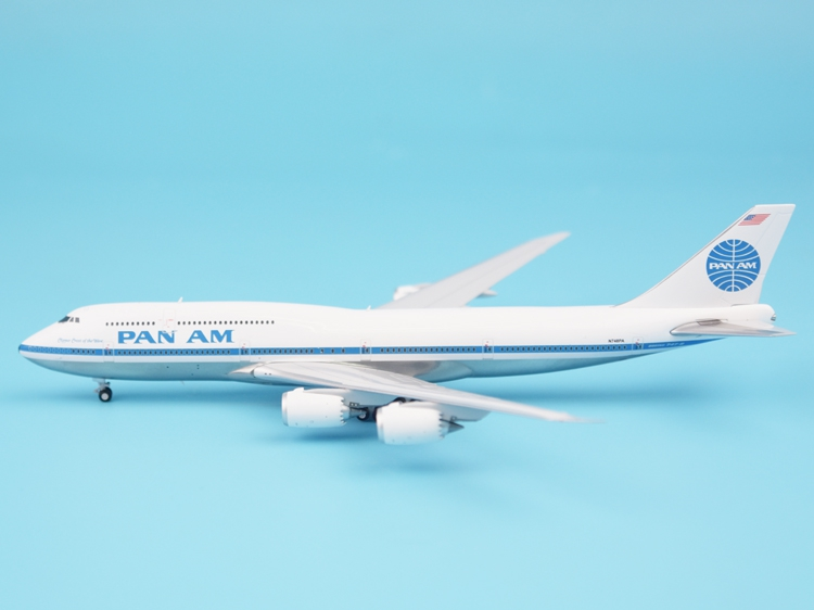 JC Wing 1:400 XX4856 Pan American Airways B747-8 N748PA Alloy aircraft model Collection model Holiday gift offer wings xx2449 special jc australian airline vh tja 1 200 b737 300 commercial jetliners plane model hobby