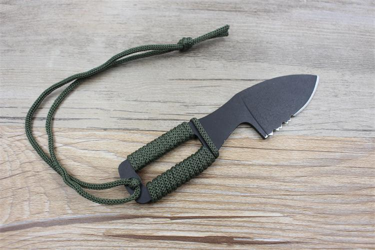 karambit nóż na szyję prawdziwa walka walka obóz wędrówka - Narzędzia ręczne - Zdjęcie 4