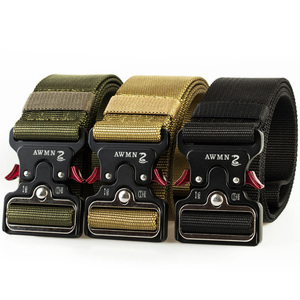 Image 2 - MEGE Mannen Tactical Army Belt Militaire Nylon Riem Outdoor multi functionele Breedte Training Canvas Riem Hoge Kwaliteit Band ceintures