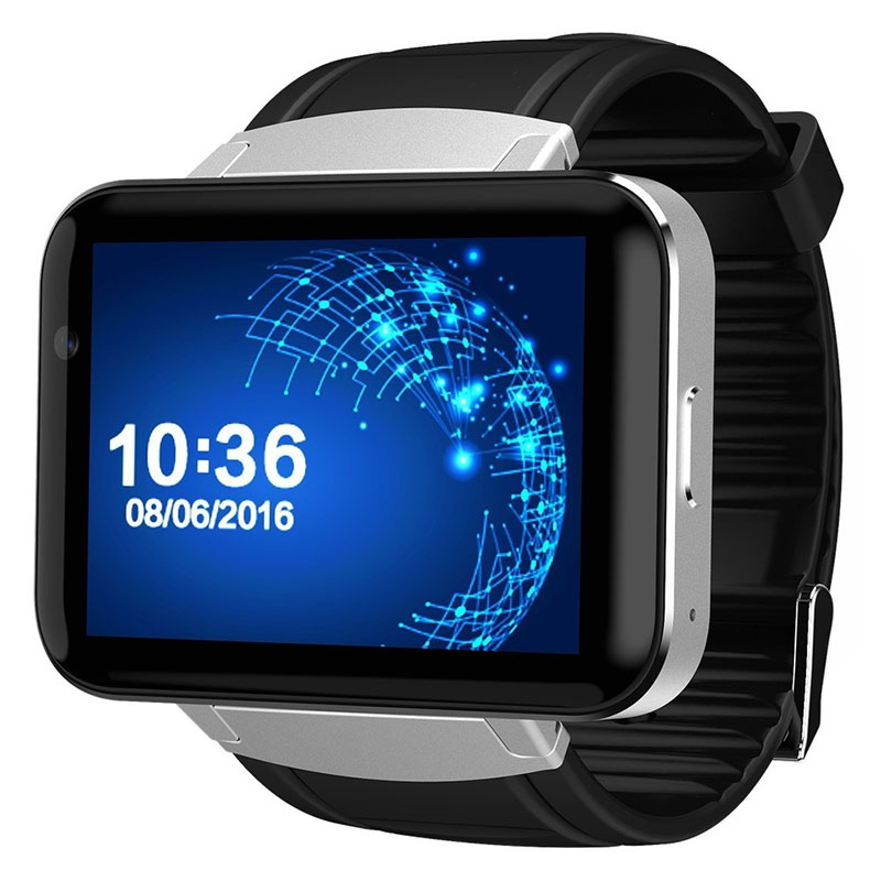 2017 Newest DM98 large-screen GPS navigation WIFI3G call Android step-by-step sleep full touch screen smart watch PK H1 DM368