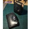 Дизайнерский кожаный ремесленный шаблонный резак  сумка для монет с кейсом для ключей  штампованный нож  форма для ручного станка  набор инс...