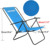 ANCHEER Mobiliário Cadeira Ao Ar Livre Portátil Camping Cadeira Dobrável Cadeira de Praia com Apoio de Braço