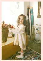 ロングスリーブレースドレス