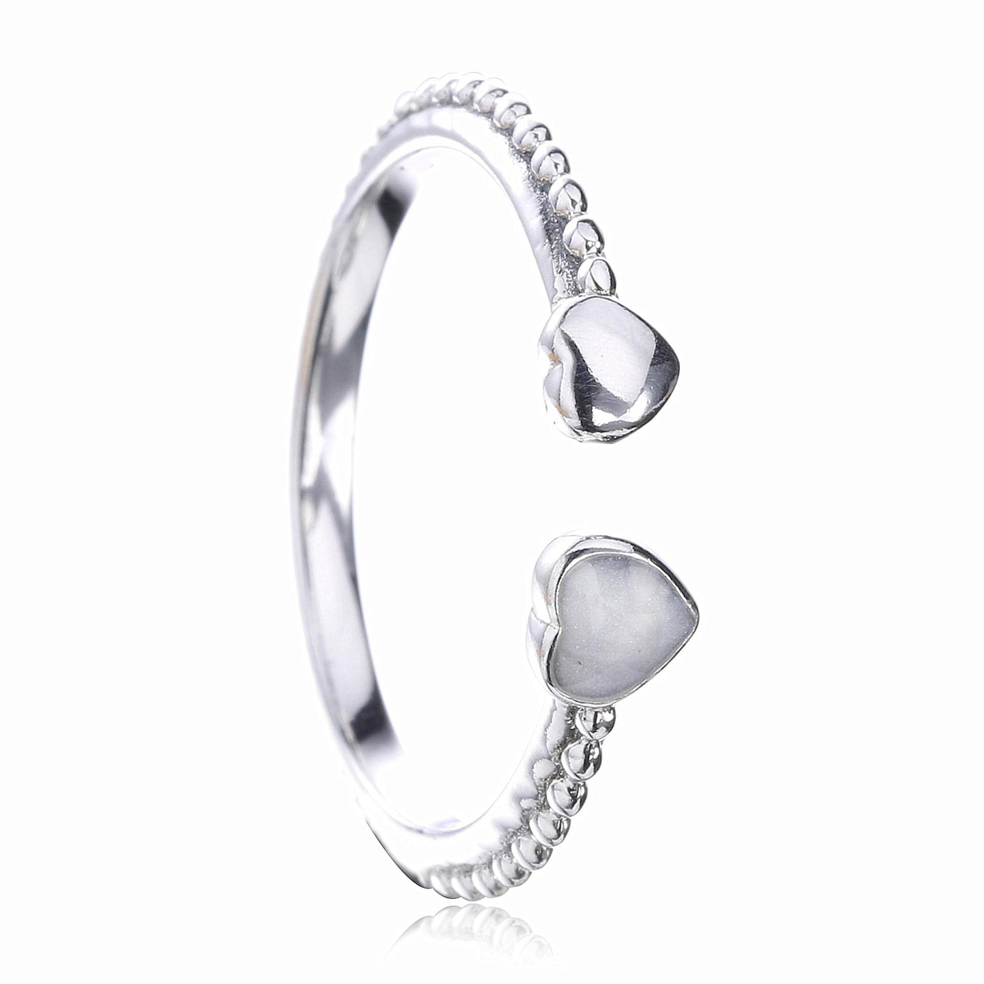 Authentic 925 Sterling Silver Ring Hearts Of Love Pandora