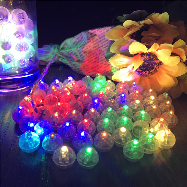 10Pcs Switch balloon LED flash luminous Lamps Tumbler light Bar lantern Christmas wedding party decoration birthday decor adult