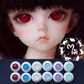 1Pair Retail DIY Accessories 12MM 16MM 22MM Acylic Plastic Doll Eyes BJD Eyes For Doll BJD