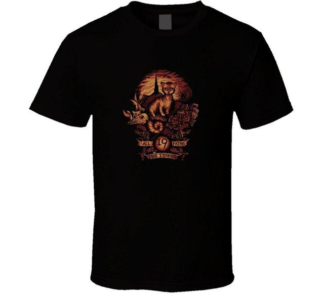 Stephen King the Dark Tower All Roads Book Movie T Shirt