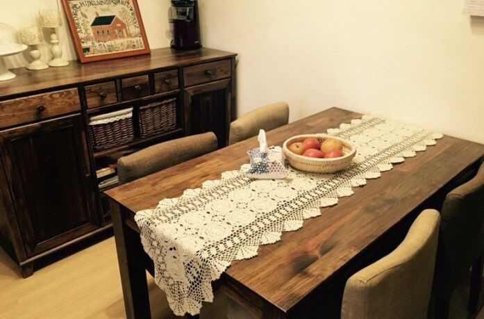Sensational Us 16 0 90 150 180 250Cm Shabby Chic Cottage Crocheted Vintage Table Runner In Table Runners From Home Garden On Aliexpress Com Alibaba Group Download Free Architecture Designs Remcamadebymaigaardcom