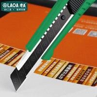 LAOA Yeni Varış 18 MM Maket Bıçağı Ev Kesme Aletleri Duvar Kağıdı Kesici Ofis Araçları|Bıçaklar|   -