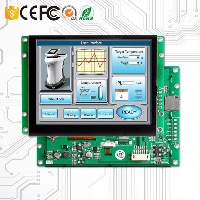 8 pollici Touch Industriale schermo di Visualizzazione Dello Schermo 16 Bit di Colore Con RS232 Interfaccia8 pollici Touch Industriale schermo di Visualizzazione Dello Schermo 16 Bit di Colore Con RS232 Interfaccia