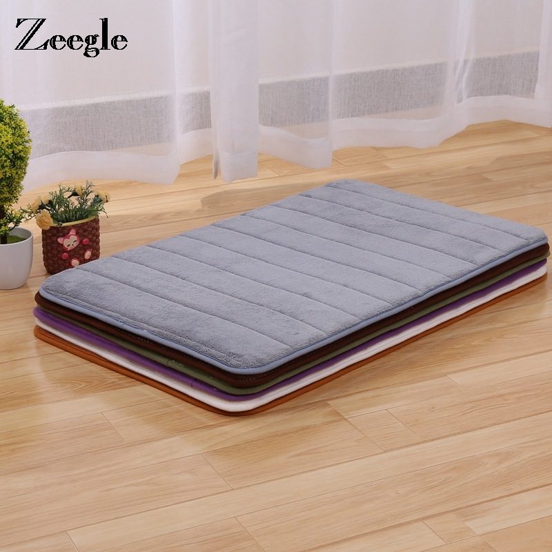 Memory Foam Carpets For Living Room Bedroom Anti-Slip Floor Mat Home Bathroom Mats Water-absorbing Doormats Kitchen Rugs