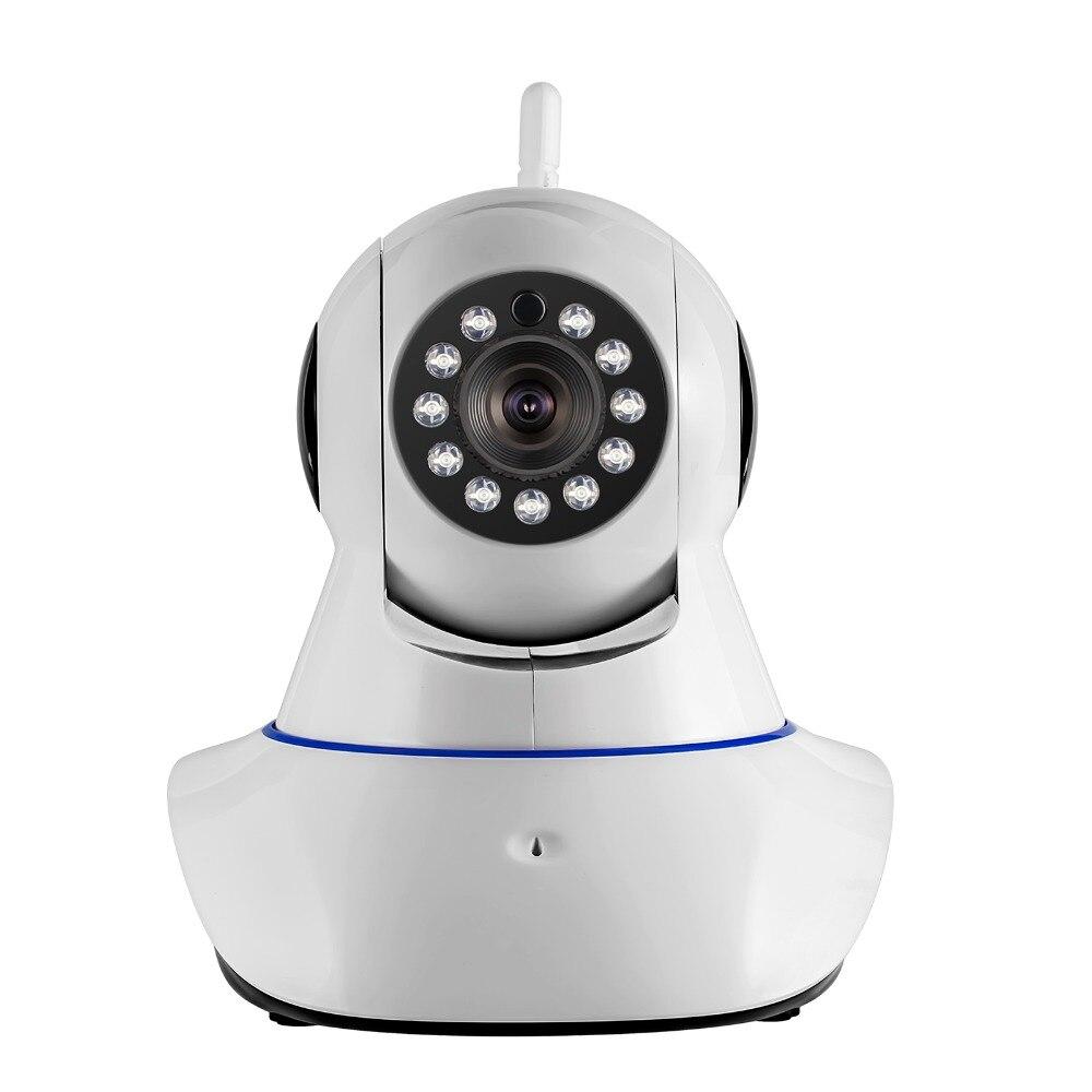 ФОТО 2017 IP Camera Wireless WIFI Camera  720P HD IR-Cut Night Vision home store Baby  Monitor Audio Record WIFI CCTV Indoor Camera