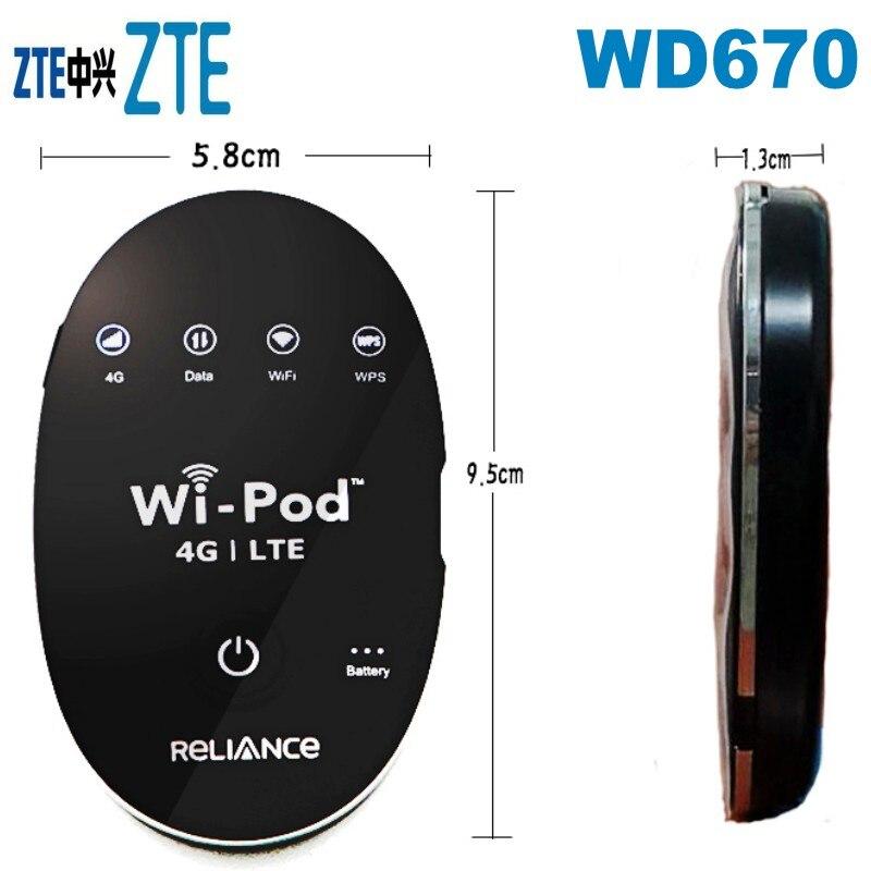 ZTE  WD670 LTE  Mobile WiFi Hotspot