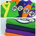 New Dragon Ball Son Goku Gotenks makeover pijamas Do Bebê Sleepwear Traje Cosplay Xmas Presentes Frete grátis
