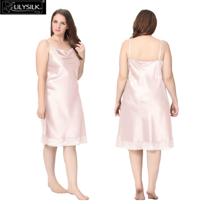 1000-light-pink-22-momme-lacey-hem-mid-length-silk-nightgown-plus-size-01