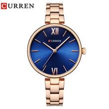 CURREN New luxury Casual Analog Quartz Watch Women Wrist Wat